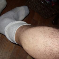 my hunkyass leg in your sox