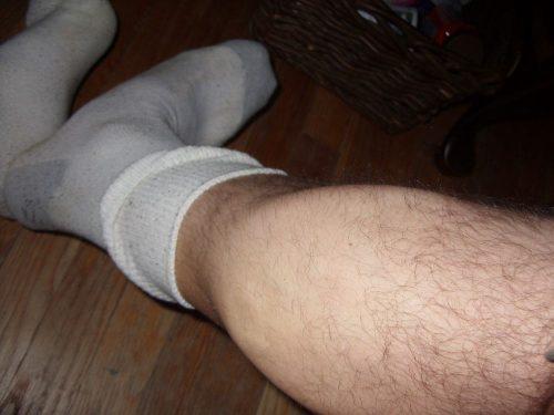 my hunkyass leg in your sox