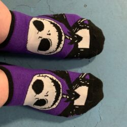 Jack Skellington socks