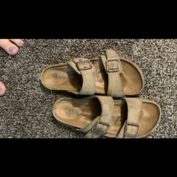 4 year old sandals heavily used
